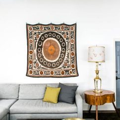 Simple Home Decor Ideas Living Room Spanish Style 50 For 2019 Shutterfly A Piece Of Patterned Fabric Is Great Wall Decoration Idea It Will Look Perfect On Any White