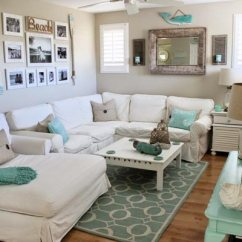Simple Home Decor Ideas Living Room Best Colours For Feng Shui 50 2019 Shutterfly Make Your Feel Like A Seaside Retreat By Using Tan And Blue Color Scheme With Few Pieces Of Nautical