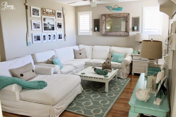 living room picture ideas small design photos 50 simple for 2019 shutterfly make your feel like a seaside retreat by using tan and blue color scheme with few pieces of nautical decor