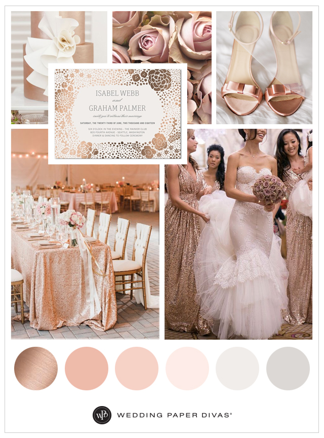 Rose Wedding Pink Theme