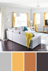 Grey And Yellow Color Scheme Bedroom | www.indiepedia.org