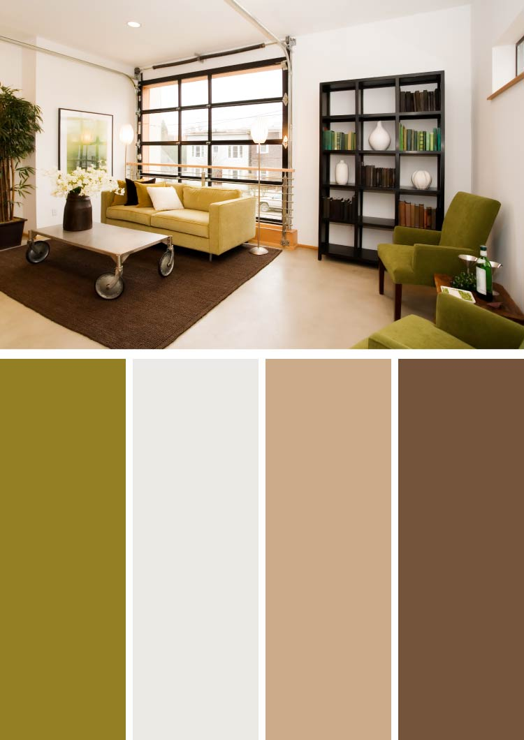 brown and green color scheme for living room beach inspired decorating ideas 10 stylish combinations photos shutterfly