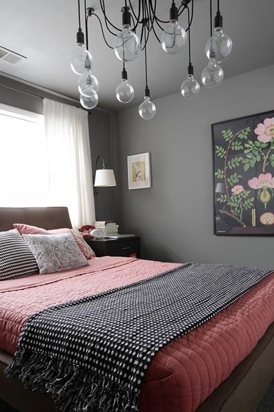75 stylish black bedroom
