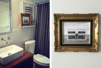 20+ Simple Bathroom Wall Decor Ideas | Shutterfly