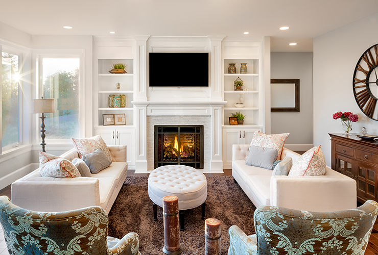 living room furniture setup ideas how to arrange a with tv 10 inviting layouts shutterfly symmetrical