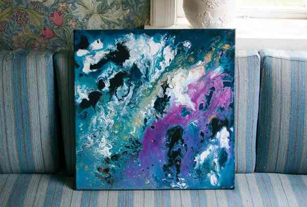 Abstract Art Canvas Painting Ideas