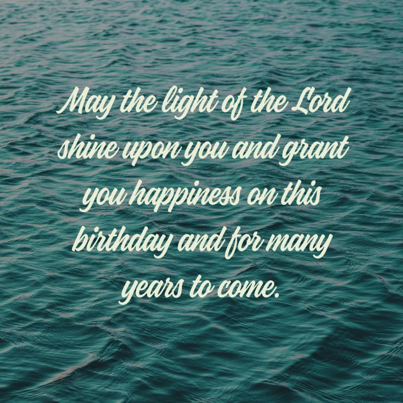 62 religious birthday wishes