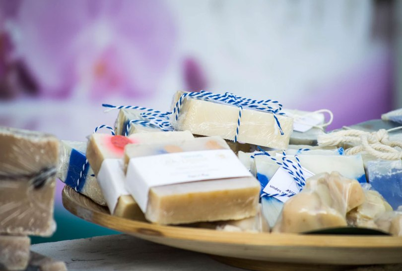 diy soap favors