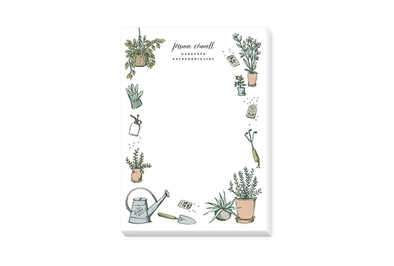 green thumb notepads