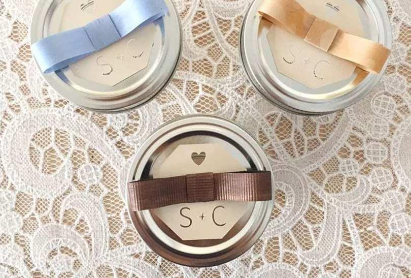 mini mason jar surprise