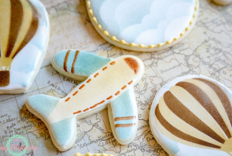 time for travel sugar cookies