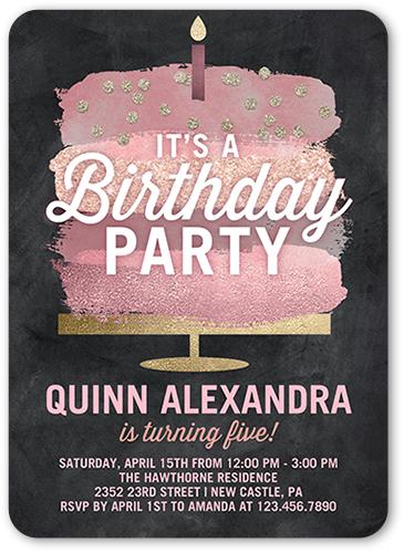 birthday invitation wording for