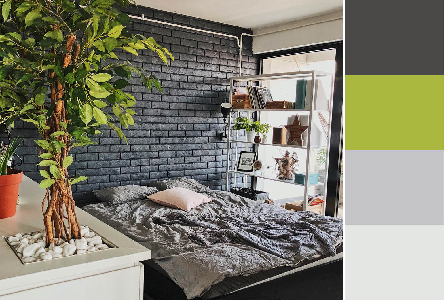 30 accent wall color