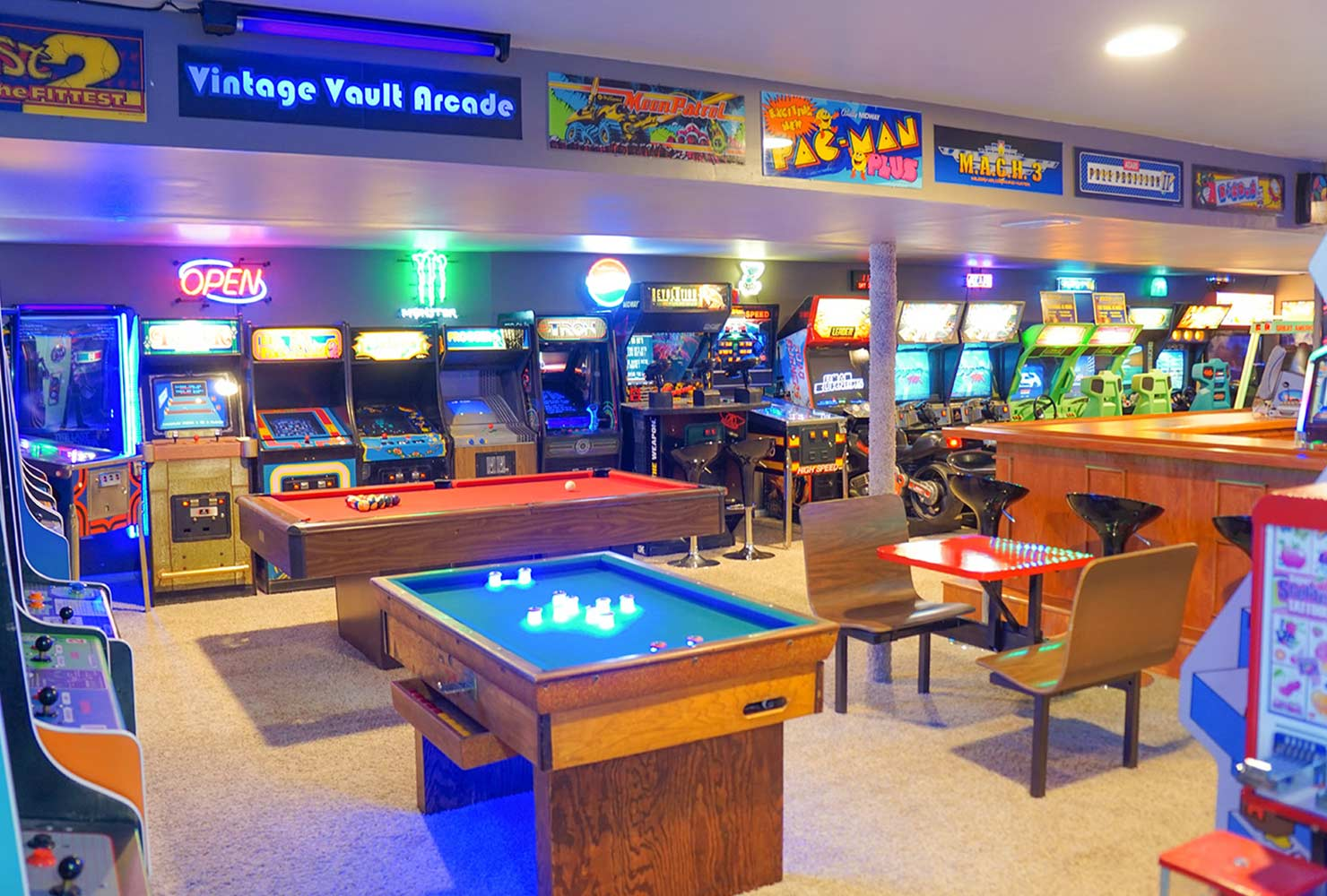 Check out this article and get 10 amazing game room ideas and more. 38 Best Game Room Ideas For Any Entertaining   Shutterfly