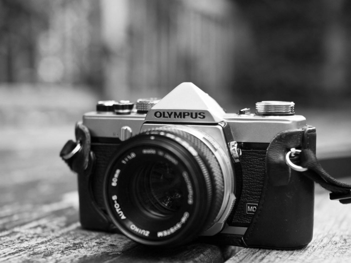 Olympus OM-1 MD 35mm SLR with Zuiko 50mm f1.8