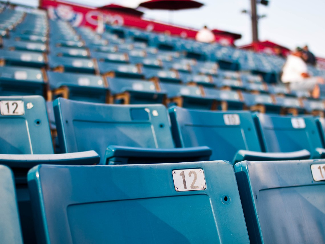 Nashville Sounds Stadium Seats at Herschel Greer Stadium in Nashville, Tennessee