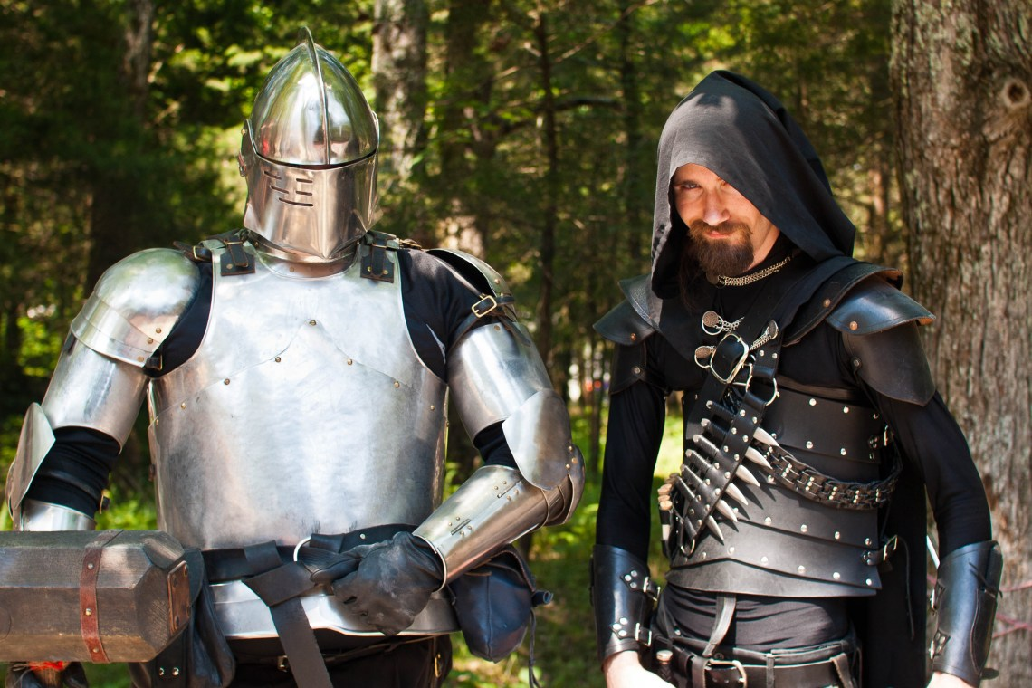 Reenactors at the 2012 Renaissance Festival in Arrington, Tennessee