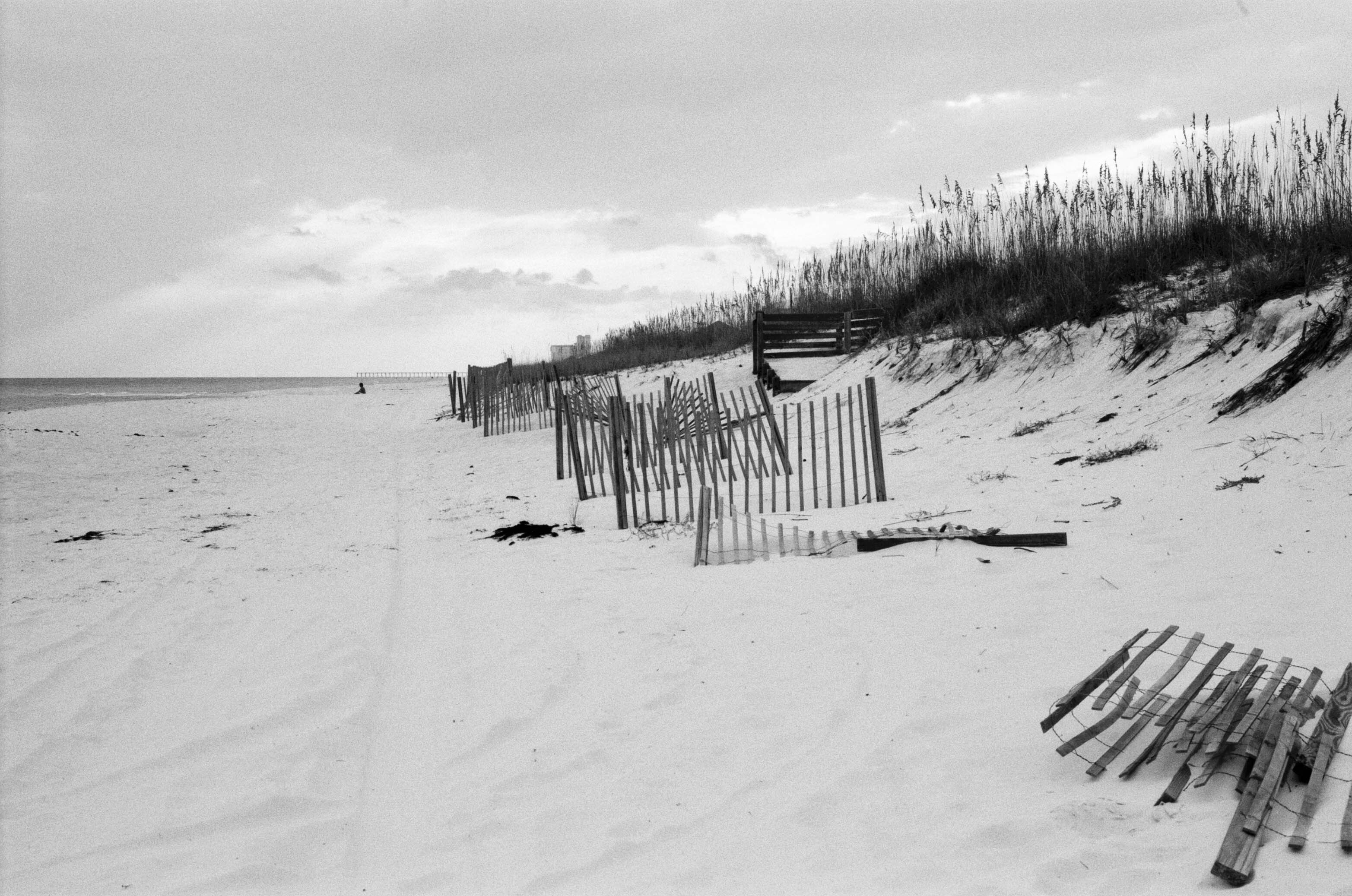 Vacation 2014: Black and White Beach