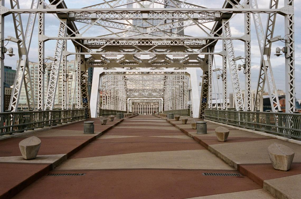 Shelby Street Pedestrian Bridge