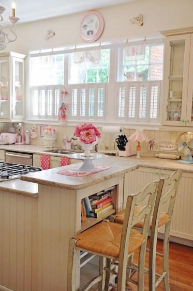 cute retro kitchen Why we love white shutters | Shutters Direct Blog