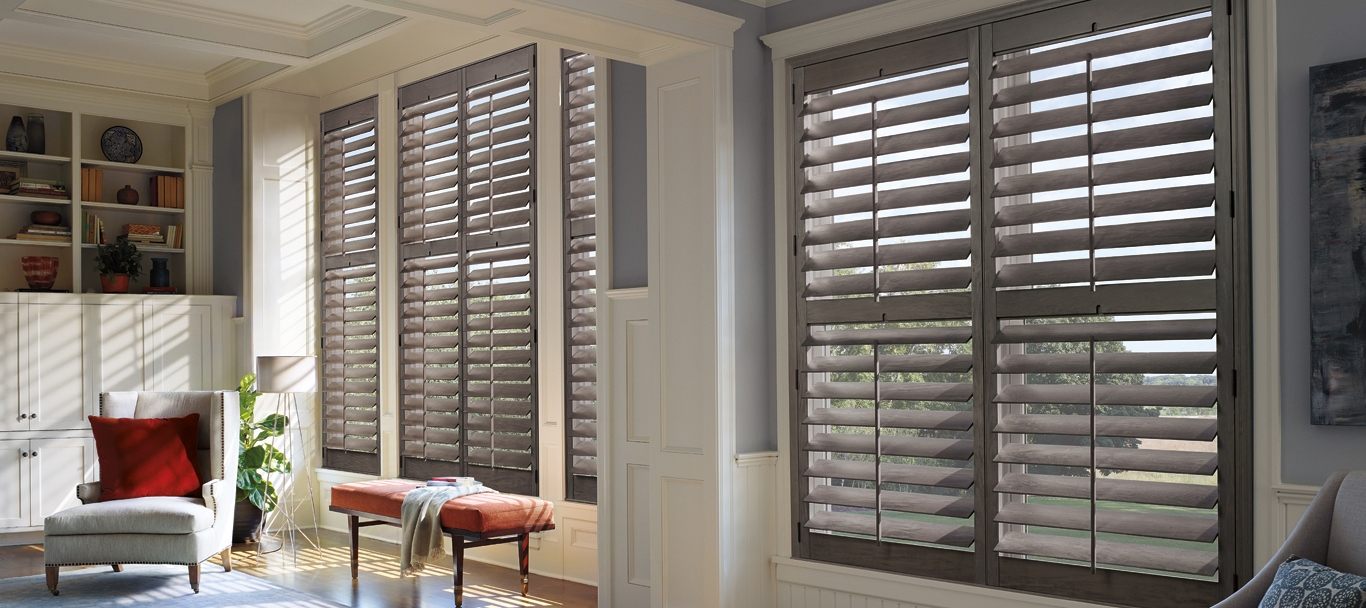 Custom Wood Plantation Shutters The Woodlands Shutters And