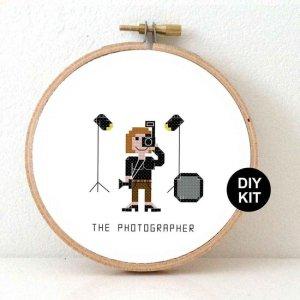 borduurset doe-het-zelf fotograaf borduren