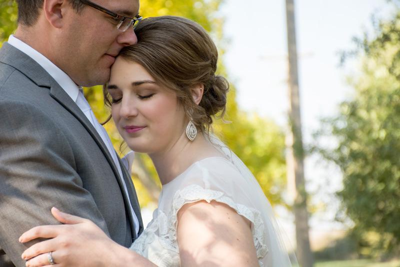 White Lake South Dakota Wedding Photographer Couple