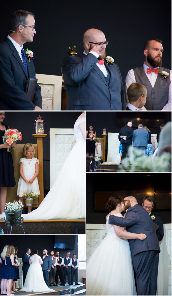rimrock church wedding ceremony black hills south dakota