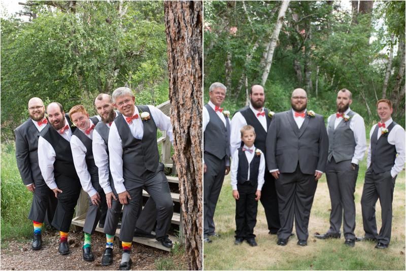rimrock church south dakota wedding groomsmen