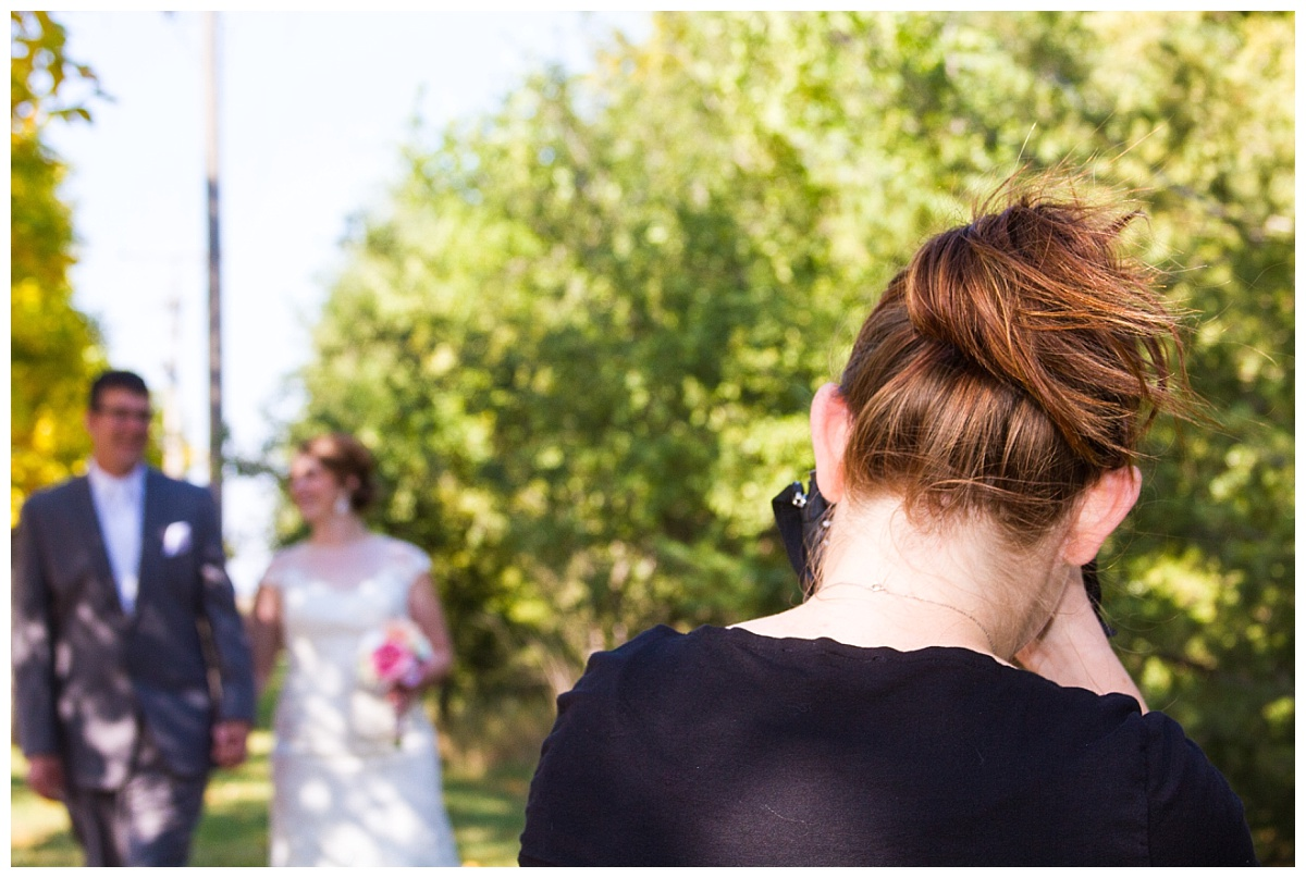 behind the scenes white lake south dakota wedding