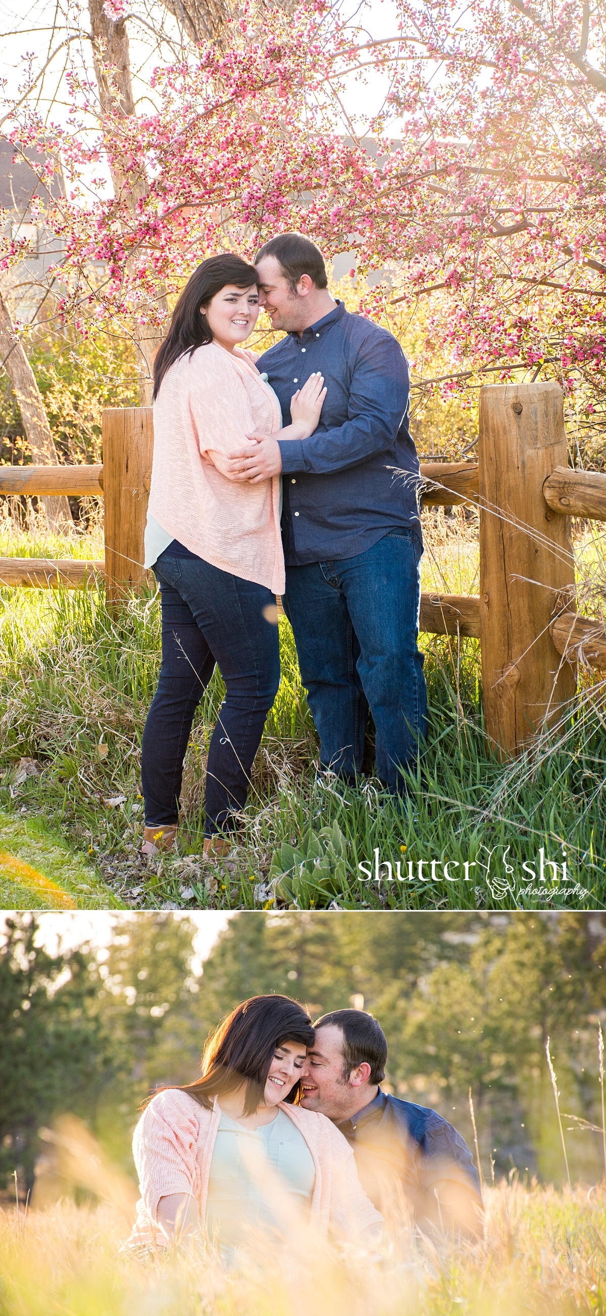 Outdoor Campus West Rapid City Spring Engagement Session Photographer