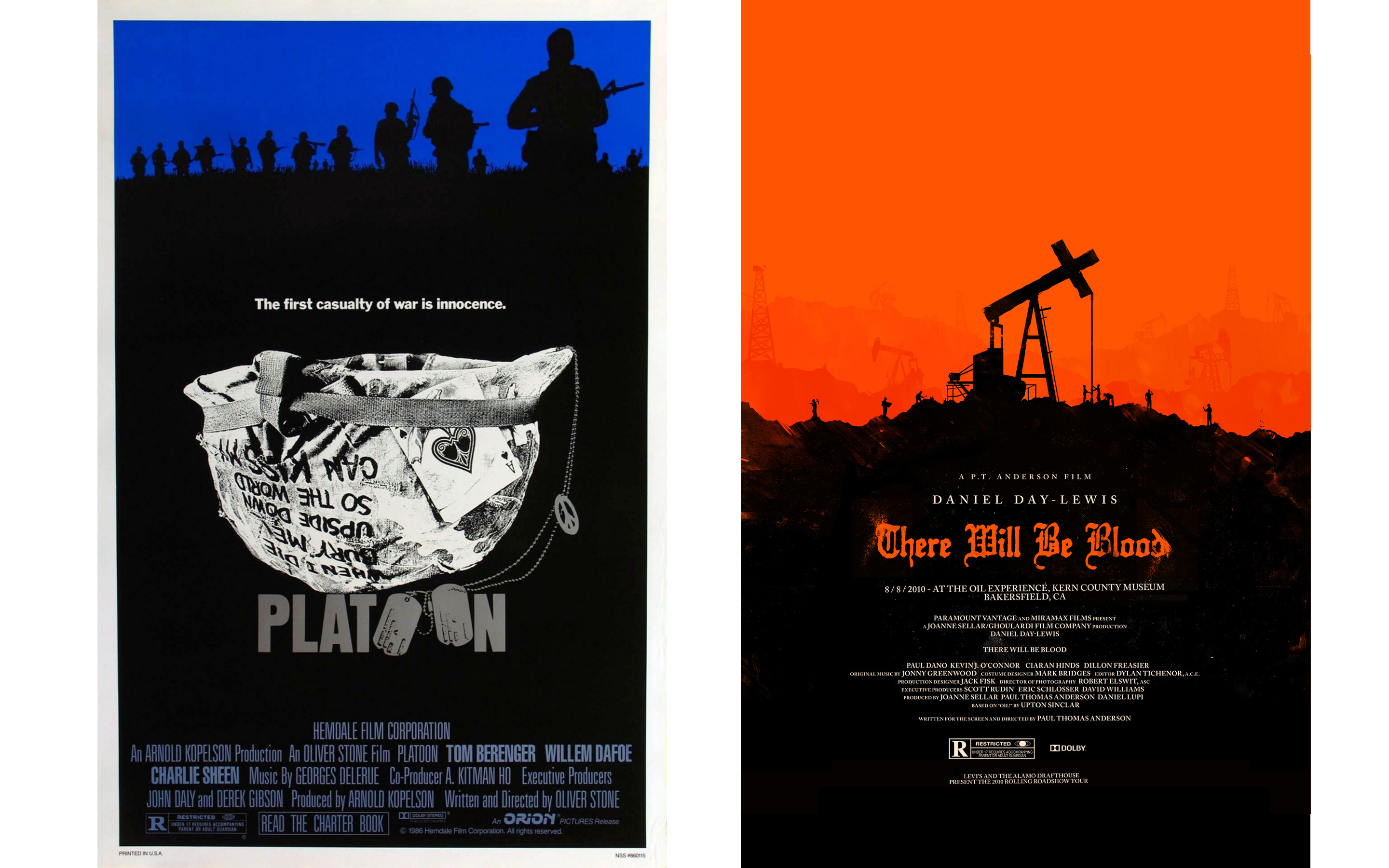 comparing modern movie posters