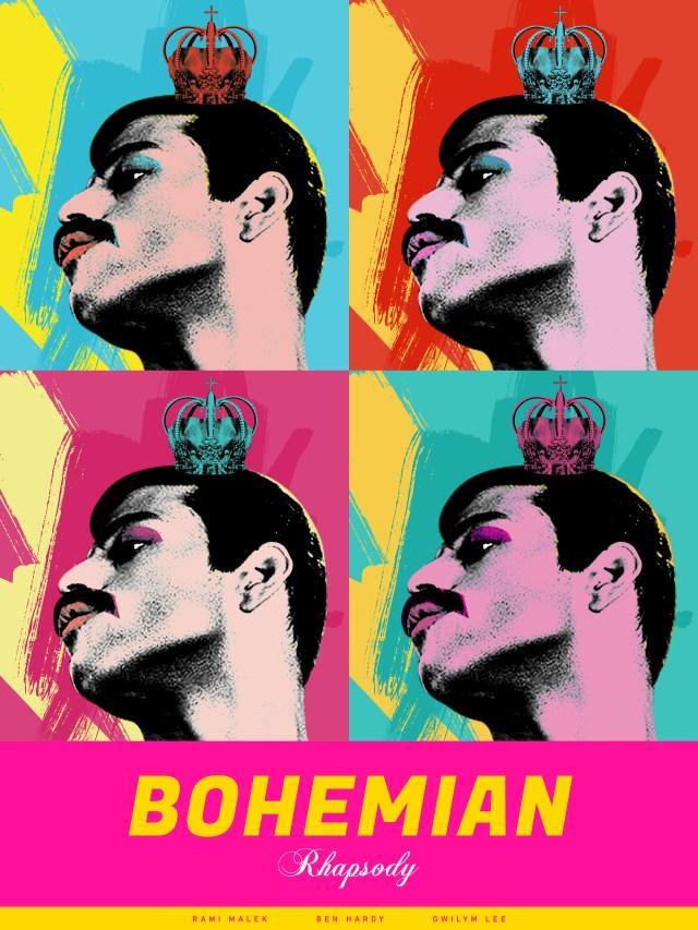 Bohemian Rhapsody concept movie poster