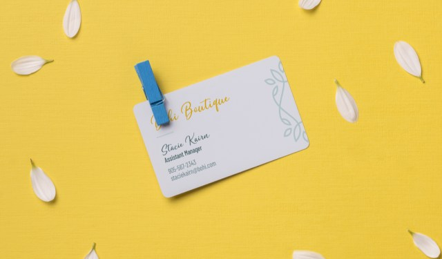 9 Fresh Ideas for Designing Creative Business Cards — Boutique Pattern