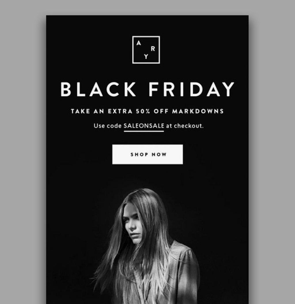 ARY's Black Friday Newsletter