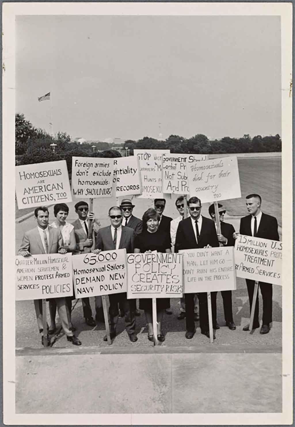 A Retrospective of LGBTQ Filmmaker and Activist Lilli Vincenz's Work - Gay Rights Picket Line