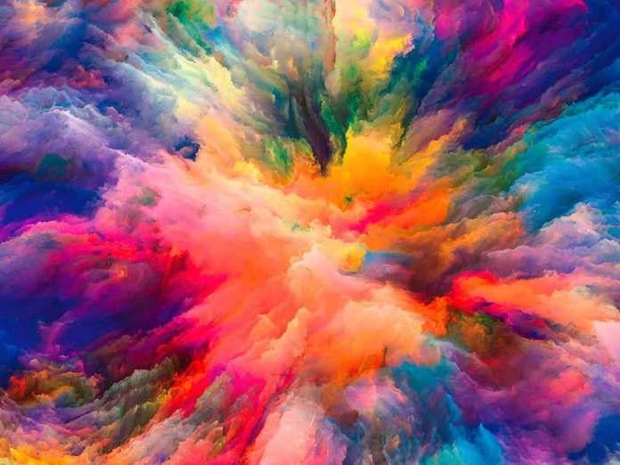 Color Powder Splash