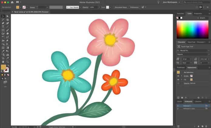 Roughen Effect Effect in Adobe Illustrator