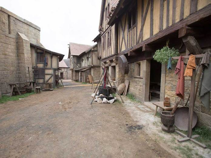 Middle Ages Reenactment