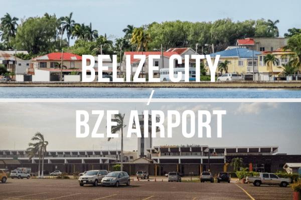 Belize City / BZE International Airport - Private Shuttle