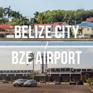 Belize City / BZE International Airport - Private Shuttle