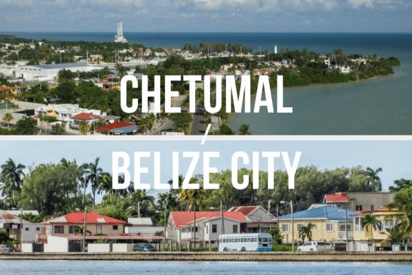 Chetumal, Mexico / Belize City - Private Shuttle