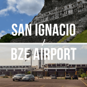 San Ignacio Cayo / Belize International Airport (BZE) - Private Shuttle