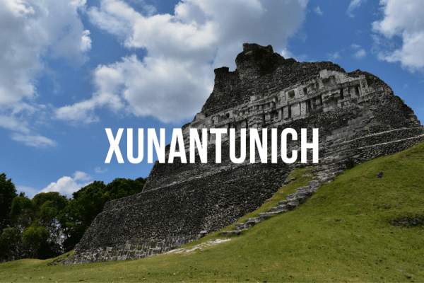 Xunantunich Guided Tour with JETS Shuttle Belize