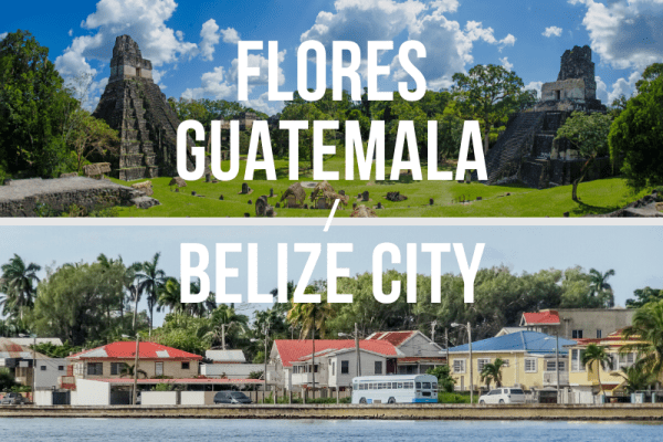 Flores, Guatemala / Belize City - Private Shuttle
