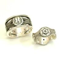 Star Wars Wedding Ring Set - Shut Up And Take My Money