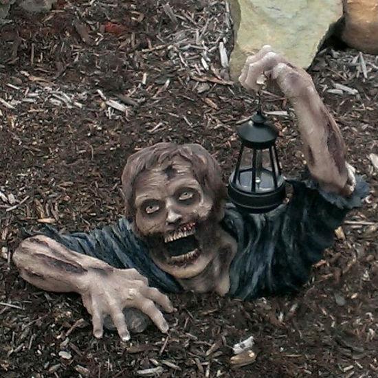 Zombie Solar Light  Shut Up And Take My Money