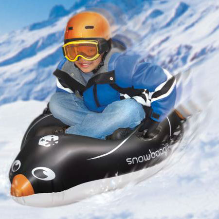 Inflatable Penguin Sled