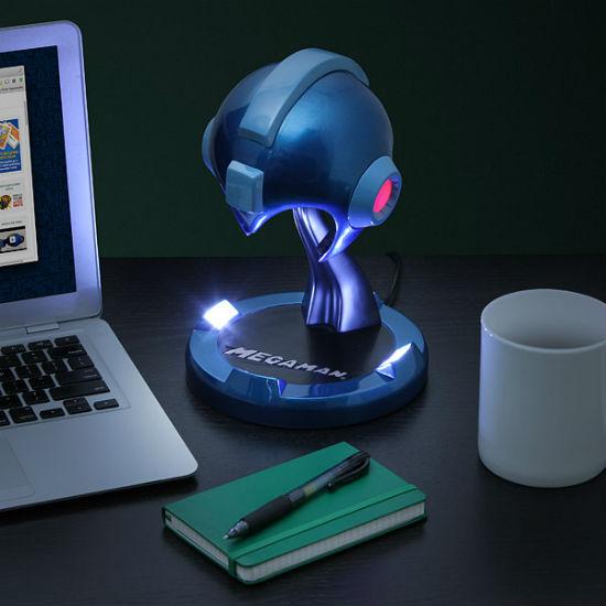 Mega Man Helmet Desk Lamp
