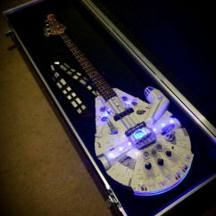 Kitchen Matches Rustic Island Lighting Millennium Falcon Bass Guitar - Shut Up And Take My Money